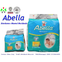 Best Selling S M L Size Baby Diaper in Africa and Baby Diapers Factory China